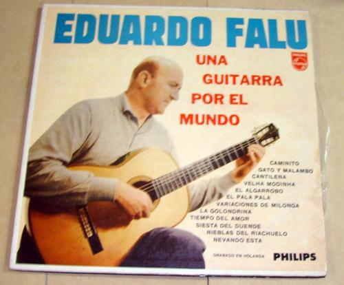 eduardo falu una guitarra por el mundo lp argentino