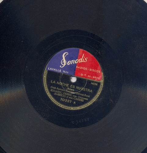 eduardo farrell disco de pasta 78rpm odeon 70227