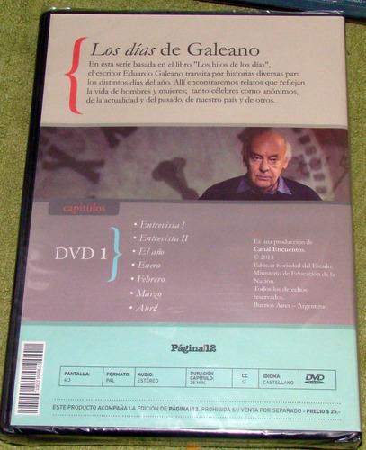 eduardo galeano los dias de galeano 1 dvd sellado pagina 12