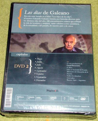 eduardo galeano los dias de galeano 2 dvd sellado pagina 12