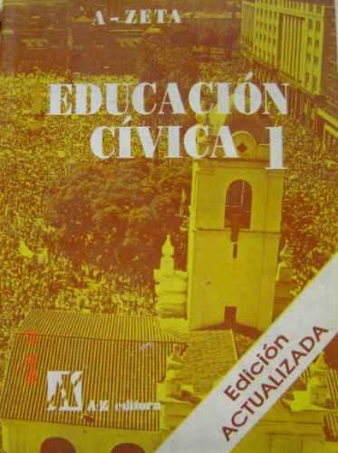 educación cívica 1   equipo editorial  ( 1996)           a z