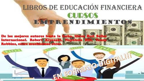 educación financiera - emprendimientos - desarrollo personal