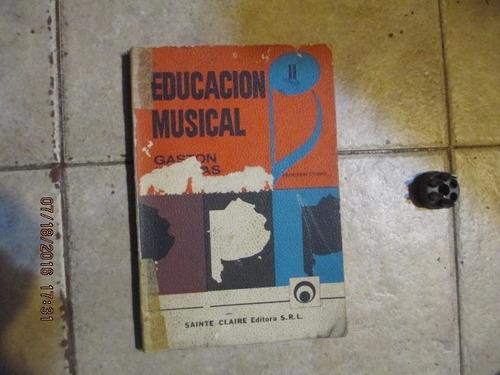 educación musical 2ºcurso - gastón mathias