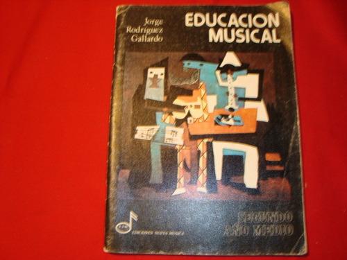 educacion musical por jorge rodriguez gallardo