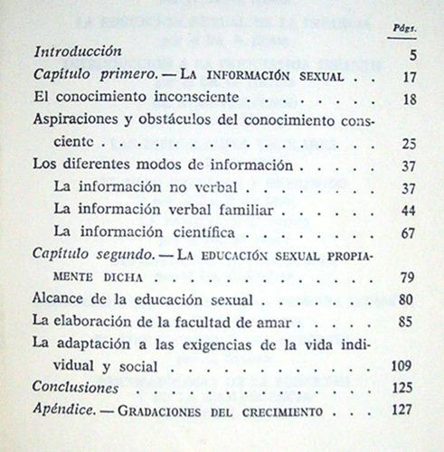 educación sexual de la infancia a. berge biblioteca paideia