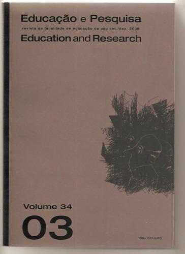 educação e pesquisa - vol. 34/3 - novo - fac. educação usp