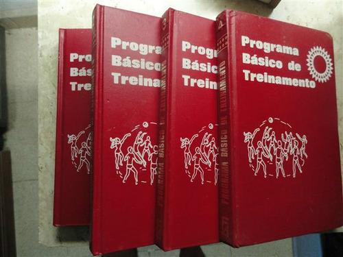 educação física - programa básico de treinamento 4 volumes