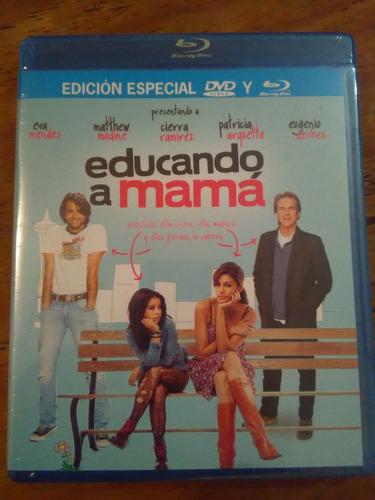 educando a mamá bluray + dvd( eugenio derbez y eva mendes)