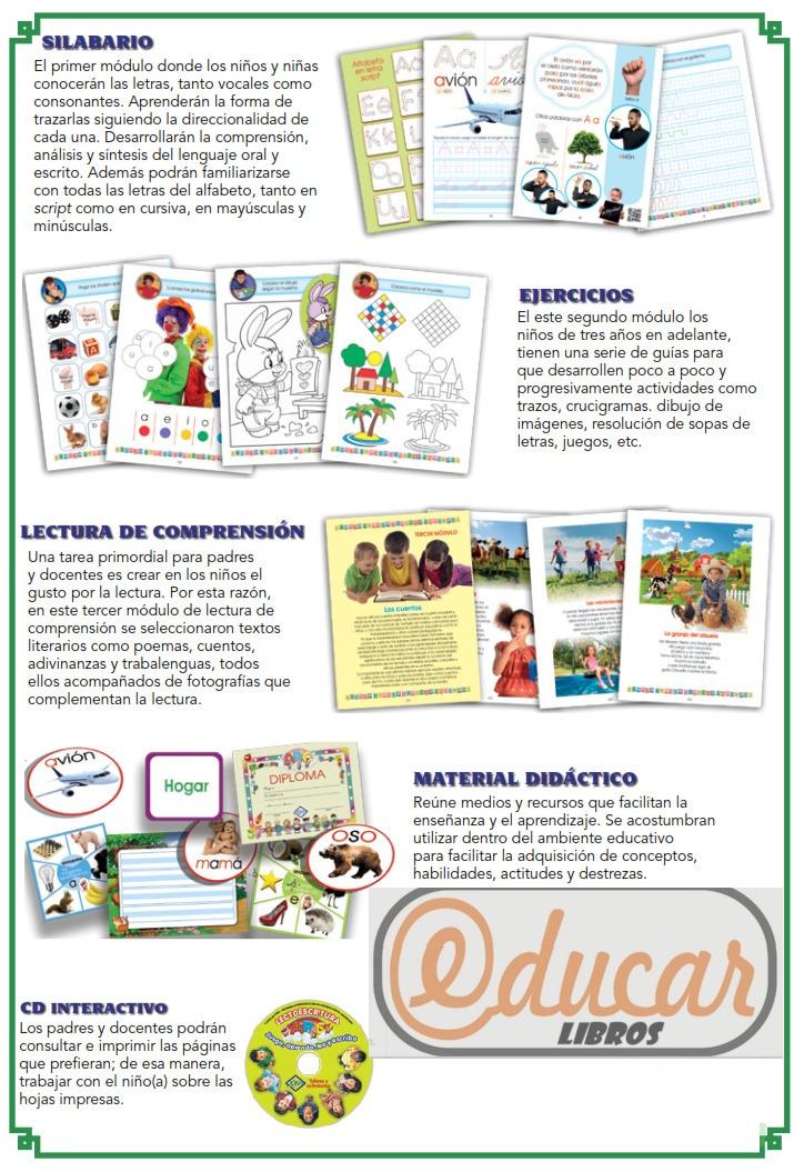 Educar Libros - Lecto Escritura Abc Cd Guía De Padres - $ 3.250,00 ...
