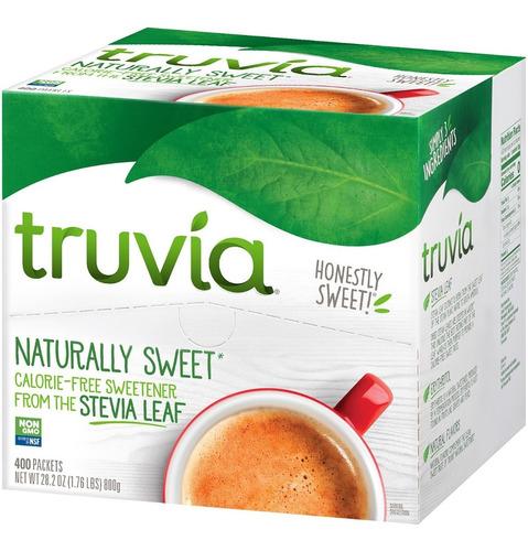 edulcorante natural sin calorías truvia (400 sobres.)