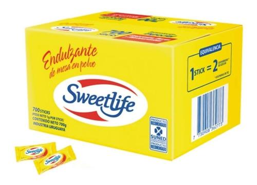 edulcorante sweetlife  700 un x 1gr
