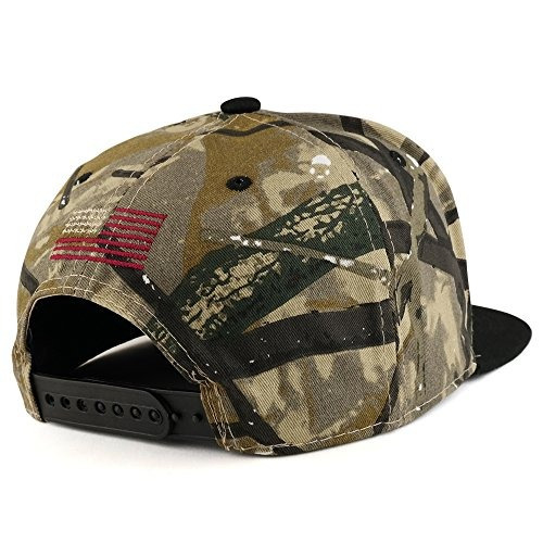 Ee Uu Bandera Americana Bordado Plana Bill Snapback Cap -   83.290 ... 0f4640739ce
