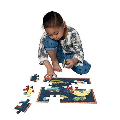 eeboo up and away space puzzle 20 piezas