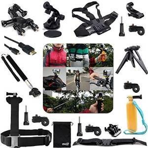 eeekit kit 20-en-1 accesorios profesional para cámaras sony