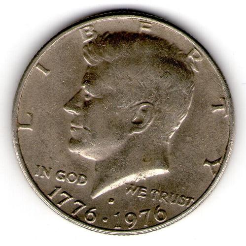 eeuu - half dollar del bicentanario - 1976