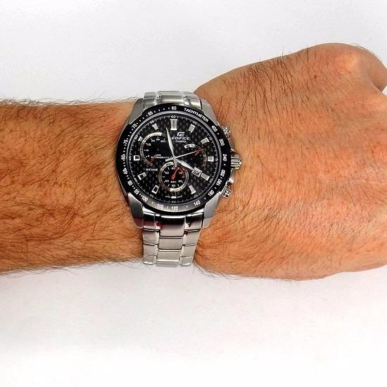 79e68caf352 Ef-521sp 1av Relógio Casio Edifice Cronógrafo Original Novo - R  714 ...