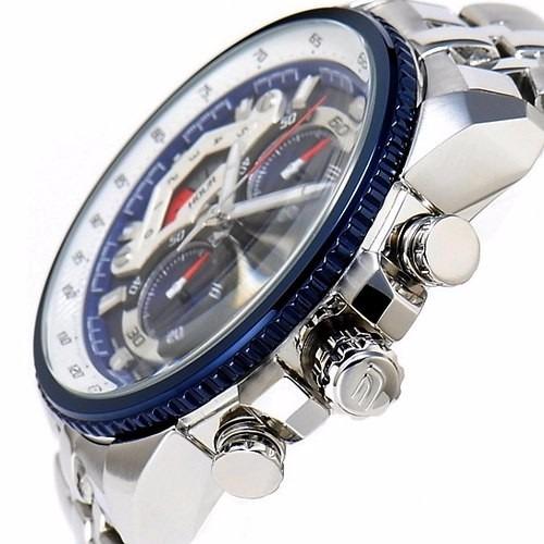 ef-558d-2av relógio casio edifice cronograph wr100 autêntico