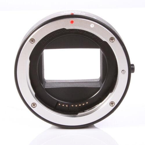 ef-nex iii auto foco canon eos lente para sony e monte a7s