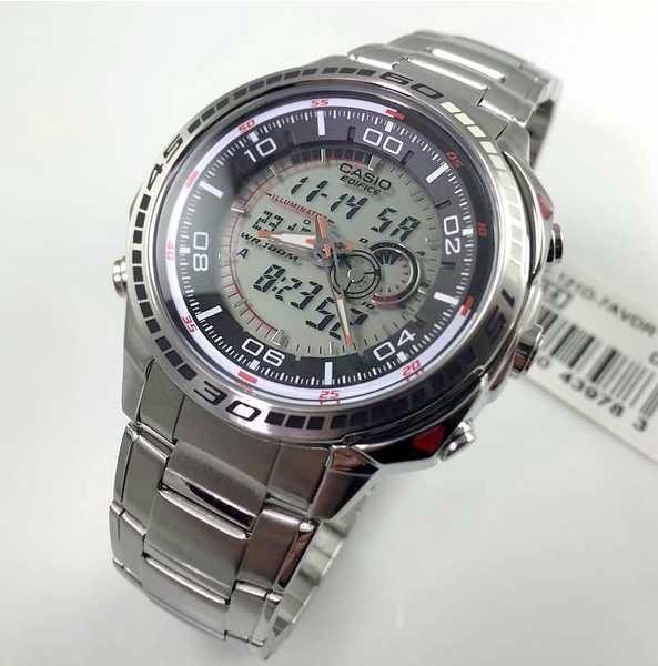 dd0e1091f37 Efa-121d 7av Relógio Casio Edifice Original Com Termometro - R  539 ...