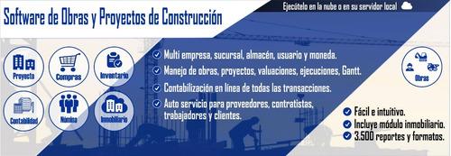efactory software de administración de obras de construcción