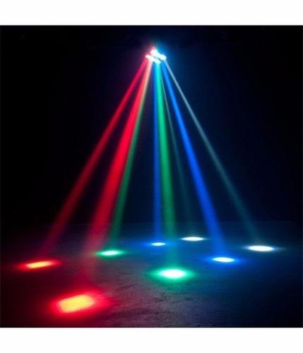 efecto big dipper lm30 mini spider 8 leds x 3w luces dj esdj
