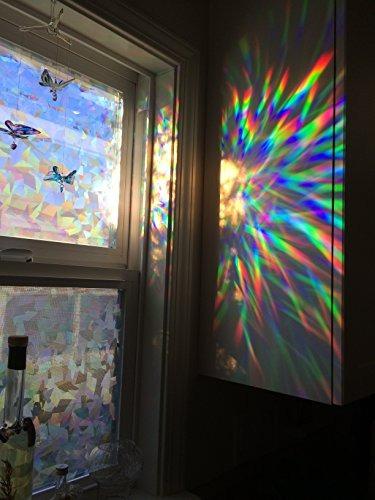 efecto cristal decorativo la película la ventana decorativa