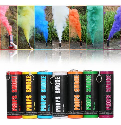 efecto de humo colorido mostrar humo fotografía prop anillo