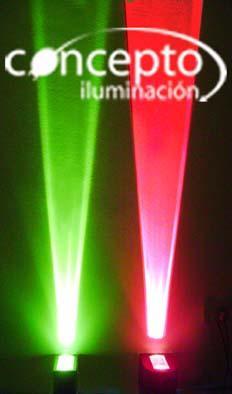 efecto laser verde - 150 watt - luces bar pub y boliche