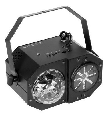 efecto led laser y estrobo madbox 3 en 1 / abregoaudio