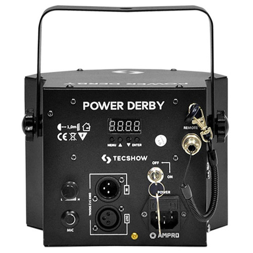 efecto luces laser led power derby eventos dj tecshow ampro