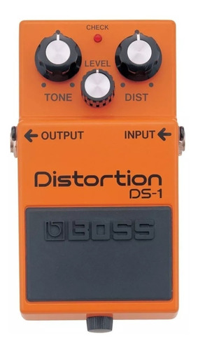 efecto pedal boss ds1 distorsion analogo para guitarra