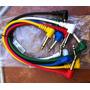Pack De 6 Cables Patch Para Efectos!!!
