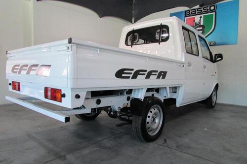 effa k02 2019 0km picape cabine dupla completa prota entrega