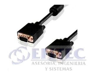 efi-acccable64 cable svga 11 mts, macho - macho