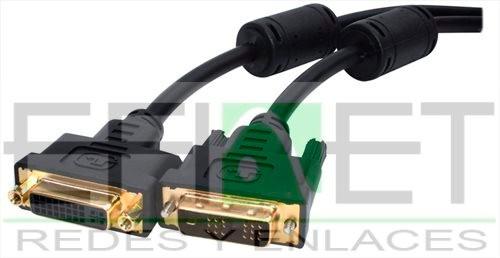 efi-acccable79 cable  dvi 18+1 macho - hembra,  4.5 mts
