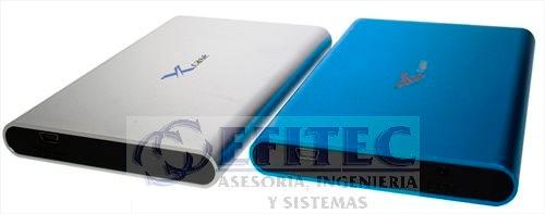 efi-case252sbpl case disco duro 2.5usb2.0asata plata