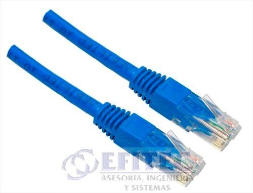 efi-cautp615 cable ponchado utp 15 mts, cat 6
