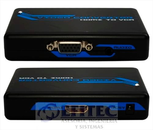 efi-hdmibigvga convertidor hdmi a svga+stereo1080p