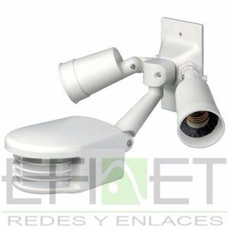 efi - rs110-1fw 500w - pir al aire libre con sensor leviton