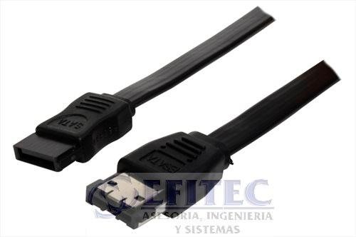 efi-satacaemm1 cable e sata a sata 1.0 mt macho-macho
