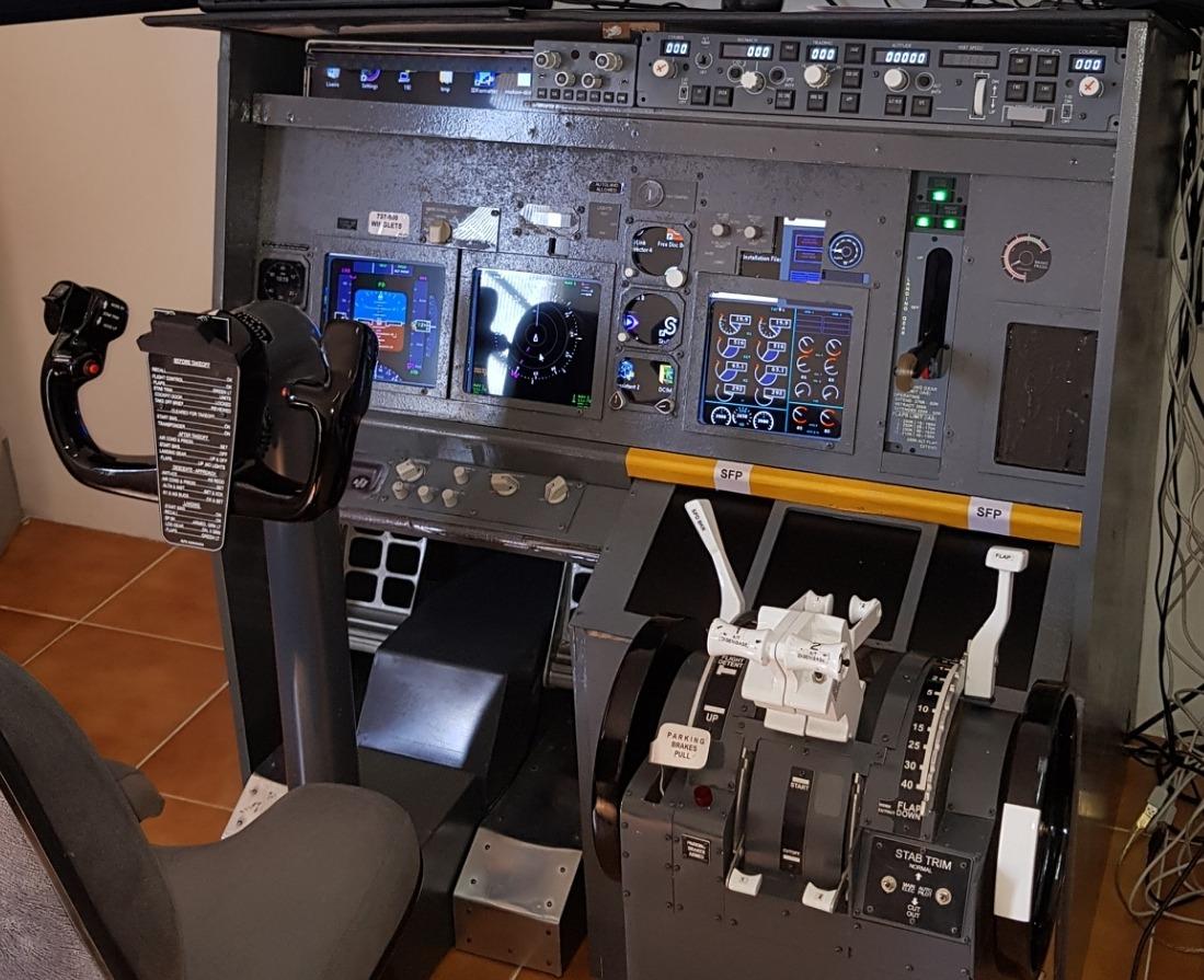 Efis Mcp Manche Pedal 737 Simulador - Fsx Xplane Prepar3d