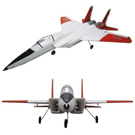 efl7050 - aeromodelo elétrico - jato fan eagle f-15