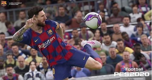 efootball pes 2020 xbox one nuevo sellado !!!