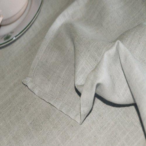 eforcurtain mantel de la vendimia mantel de lino duradero p