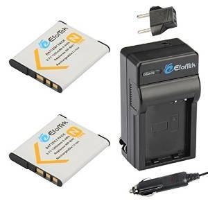 efortek np-bn1 reemplazo de la batería (2-pack) y el kit car