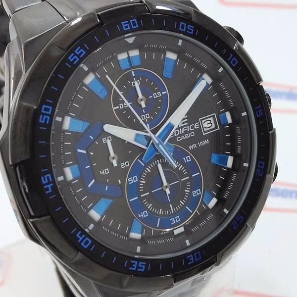 5e423006f3a Efr-539bk-1a2 Relógio Casio Edifice Black Ip 100% Original - R  694 ...