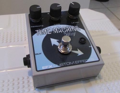 efx time machine (pedal delay analógico guitarra baixo)