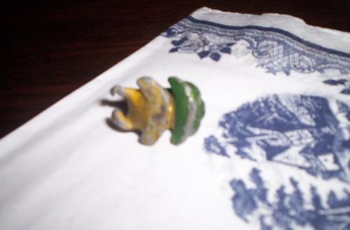 eg toys par de ranas de plomo petit bronze