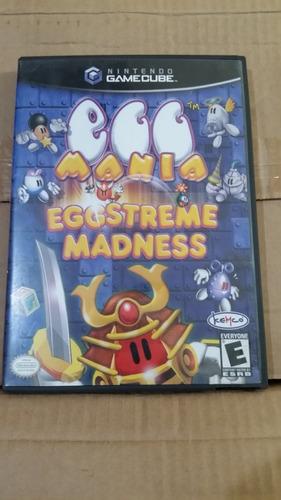 egg mania eggstreme madness nintendo gamecube