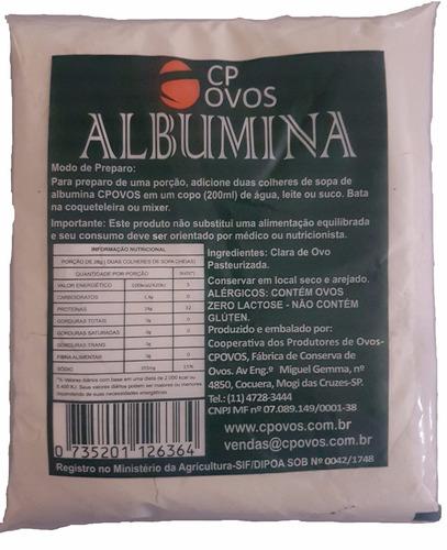 egg protein- albumina -1 kg (2 pacotes de 500g)- suplemento